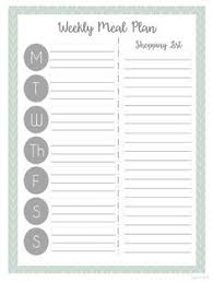 menu planner worksheet free meal planner food tips healthy eating pinterest meal