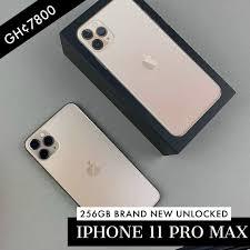 iSHOP Ghana - Brand New iPhone 11 Pro Max 256gb Gold...