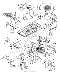 Troy bilt 13027 14hp hydro suburban tractor s n 130270100101 parts diagrams