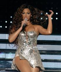 Beyonce entertaining at Madison Square Garden ...