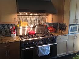 stove with easy utensil rack