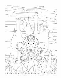 Kleurplaat Prinses Ridders En Kastelen Princess Coloring Pages