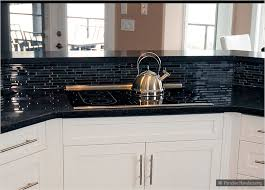 black and white tile countertops. Brilliant Countertops Black White Tile Countertop With Backsplash Modern Countertops And O