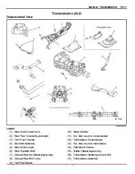 isuzu repair service manuals manual transmission mua models