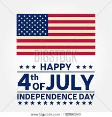 American Flag Website Background Happy Independence Vector Photo Free Trial Bigstock