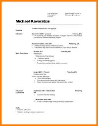 Resume High School Diploma