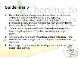 Nursing Charting Guidelines Methods Of Nursing Documentation Final