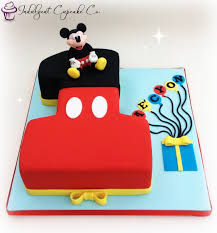Mickey Mouse Number 1 Cake Mickey Mouse Micke