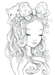 Anime Coloring Pages For Adults Dreamsurfinfo