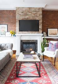 diy fireplace ideas minimalist living room pictures small living