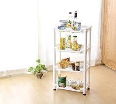 type of shelves floor type combination shelf rack 4 layers bathroom living room storage kitchen storage