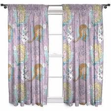 kids disney frozen curtains 66