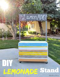 DIY Lemonade Stand by My Altered State; I needed to help a friend that is