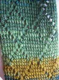 Tunisian Crochet Patterns Amazing Diamond Scarf Tunisian Crochet Kickin Crochet