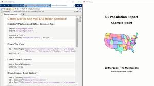 Report With Pictures Matlab Report Generator Matlab
