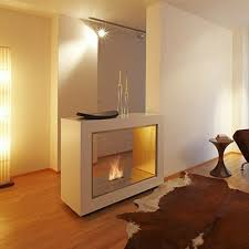Contemporary Freestanding Fireplace from EcoSmart Fire