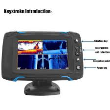 Us 811 25 19 Off Marine Gps Gps Accessories Touch Screen Fish Finder Gps Navigation Chart Side Scan Full Scan Sonar Fish Detector Display In