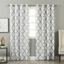 Geometric Pattern Curtains Magnificent Buy Geometric Curtains Drapes Online At Overstock Our Best