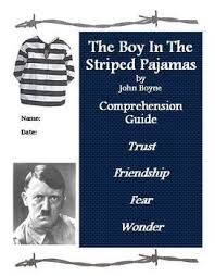 best the boy in the striped pajamas images the boy in the striped pajamas reading comprehension guide filled questions and activities