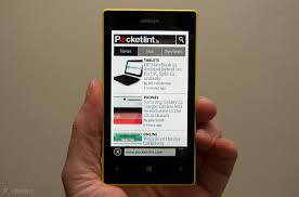 Aí dentro devem procurar a aplicação definições. Nokia Lumia 520 Review