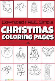 Free printable christmas coloring sheets for preschoolers. Free Christmas Coloring Pages