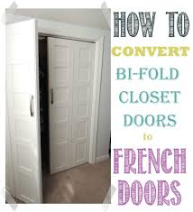 Bifold Door Alternatives Convert Bifold Doors To French Doors Easily