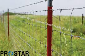 barbed wire fence cattle. China Field Wire Mesh Cattle Fencing For Perimeter Fence - Fencing, Welded Barbed Y