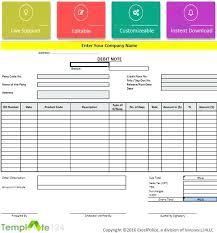 8 Debit Note Format In Excel Review Code Template Ustam Co