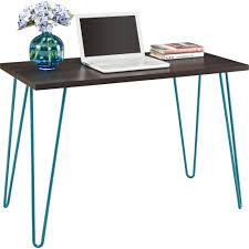 full size of desk gorgeous metal student desk drak oak wood composite top hairpin legs black desk vintage espresso wooden