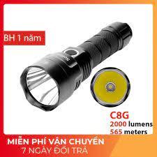 SIÊU SÁNG] Đèn pin và đèn sạc Sofirn C8G bóng LED CREE XHP35 HI độ sáng  2000lm chiếu xa 565 m sử dung pin 21700