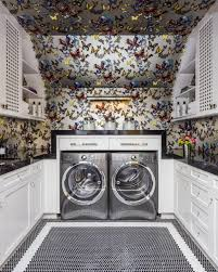 Laundry Room Wallpaper Designs 7 Stylish Laundry Room Decor Ideas Hgtvs Decorating