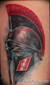 фото рисунка тату шлем спартанца 09102018 196 Spartan Helmet