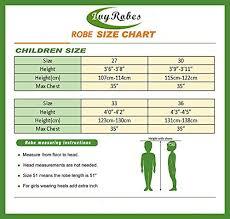 Choir Robe Size Chart Ivyrobes Unisex Children Choir Robe Large Sky Blue 33