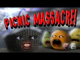 images about Annoying orange on Pinterest Pinterest Annoying Orange   Picnic Massacre