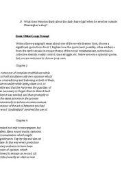 1984 Essay Topics 1984 Novel Essay Questions
