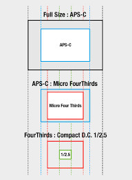 Aps Sensor Size Chart Four Thirds Micro Four Third High Image Quality