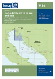 Imray Or Admiralty Charts Imray Chart M24 Golfo Di Trieste To Losinj And Rab