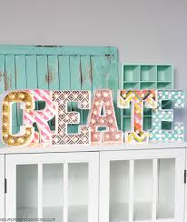 craftiest ways to decorate letters letters home homecraft