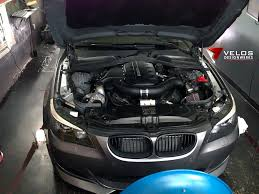 BMW Convertible bmw e60 545i supercharger : S85: Velos Designwerks just finished an ESS VT2-650 S85 V10 M5 ...