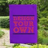 Small Picture Design Your Own Personalized Garden Flag