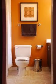 Elegant 40 Cool Orange Bathroom Design Ideas Digsdigs Bathroom Inspiration Orange Bathroom Decorating Ideas