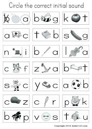 Phonics Activities For Kindergarteners Phonics Worksheets ...