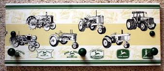 John Deere Coat Rack John Deere Tractors Bathroom Towel Holder Coat Rack EBay 29