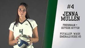 Freshman Outside Hitter Jenna Mullen - Portland State Volleyball - YouTube