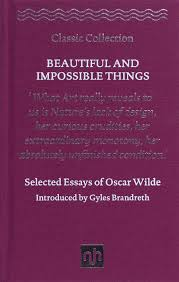 virginia woolf essays on the self notting hill editions beautiful and impossible things selected essays of oscar wilde