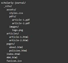 The Code4Lib Journal – Using Static Site Generators for Scholarly ...
