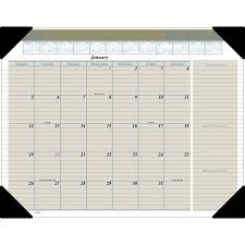 17 Month Calendar At A Glance Executive Monthly Calendar Desk Pad Yes Monthly 1 Year January 2020 Till December 2020 1 Month Single Page Layout 22 X 17