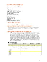 Funding Proposal Template Grant Templates Petitingoutpolyco 11