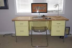 office desk metal. Metal Desk Makeover | The Rest Of House Pinterest Makeover, Desks And Office .