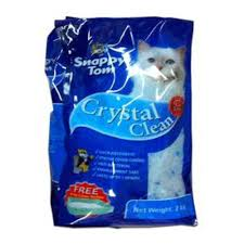 image cat litter. Snappy Tom, Crystal Clean Cat Litter - 2 Kg Image Cat Litter T